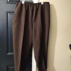 Blair Women Brown Dress Pants Slacks Size 20